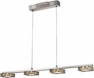 Trans Globe MDN-1327 Luxor Polished Chrome LED Kitchen Island Light
