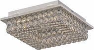 Trans Globe MDN-1365 Bel Air Polished Chrome LED 13  Ceiling Light