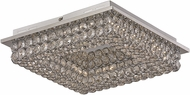 Trans Globe MDN-1366 Bel Air Polished Chrome LED 16  Ceiling Light Fixture