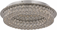 Trans Globe MDN-1367 Bel Air Polished Chrome LED 14  Ceiling Lighting Fixture