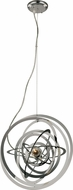 Trans Globe PND-978 Tangled Modern Polished Chrome Hanging Lamp