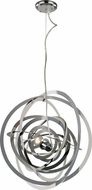 Trans Globe PND-979 Tangled Contemporary Polished Chrome Hanging Light