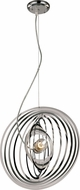 Trans Globe PND-980 Tangled Modern Polished Chrome Pendant Light Fixture