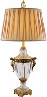 Trans Globe RTL-8817 Solid Antique Brass Table Top Lamp