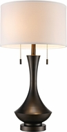 Trans Globe RTL-8932 Mica Antique Brass Table Lighting