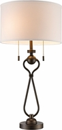 Trans Globe RTL-8933 Mulholland Antique Brass Lighting Table Lamp