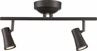 Trans Globe W-922-ROB Robbins Contemporary Rubbed Oil Bronze LED 2-Light Home Track Lighting