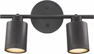Trans Globe W-942-ROB Holdrege Contemporary Rubbed Oil Bronze Halogen 2-Light Wall Mount Track Lighting