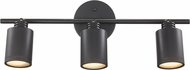 Trans Globe W-943-ROB Holdrege Contemporary Rubbed Oil Bronze Halogen 3-Light Wall Mount Track Lighting Fixture