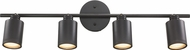 Trans Globe W-944-ROB Holdrege Contemporary Rubbed Oil Bronze Halogen 4-Light Wall Mount Track Lighting Kit