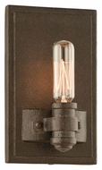 Troy B3121 Pike Place Shipyard Bronze Finish 7.125  Tall Wall Light Sconce