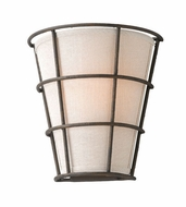 Troy B3901 Habitat Liberty Rust Finish 9.5  Wide Wall Sconce Lighting