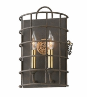 Troy B3932 Latitude Liberty Rust Finish 14  Tall Wall Lighting Fixture