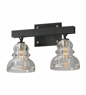 Troy B3962 Menlo Park Retro 10  Tall 2-Light Vanity Light