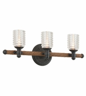 Troy B4153 Embarcadero 9  Tall 3-Light Bathroom Sconce