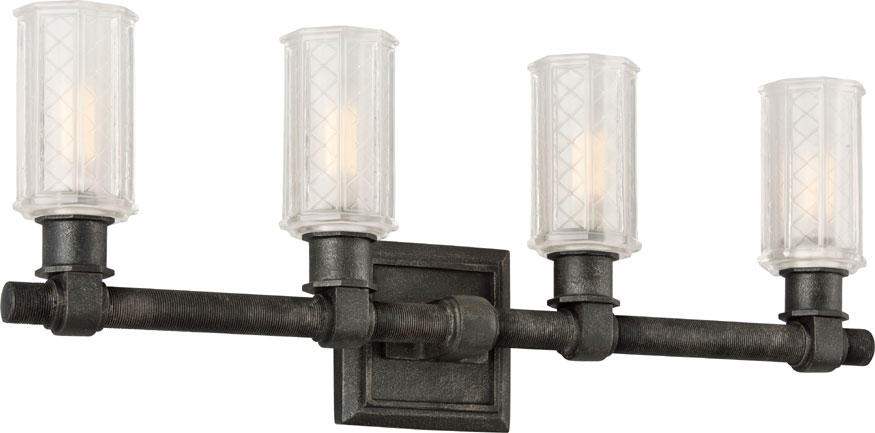 Troy b4234 vault wrought iron aged pewter 4 light bath lighting troy b4234 vault wrought iron aged pewter 4 light bath lighting loading zoom aloadofball Image collections