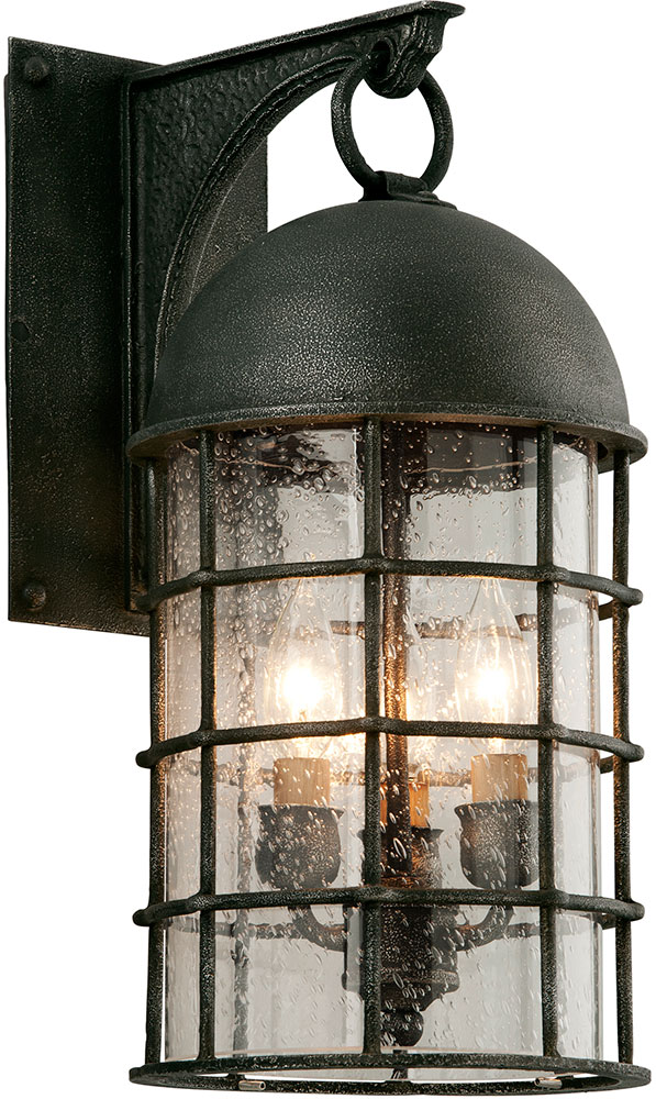 Troy b4432 charlemagne hand worked iron outdoor sconce lighting troy b4432 charlemagne hand worked iron outdoor sconce lighting loading zoom workwithnaturefo