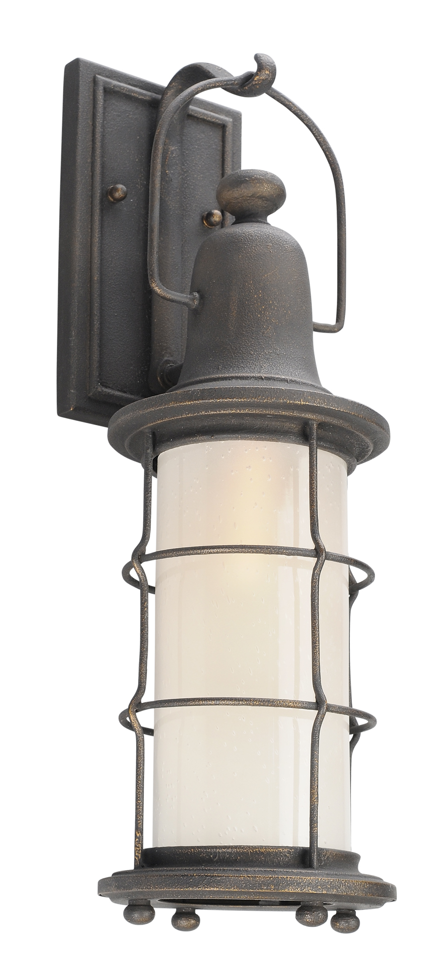 Iron Outdoor Wall Sconces : Troy B4441 Maritime Hand Worked Iron Outdoor Lighting Sconce - TRO-B4441