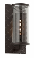 Troy B4621TBZ Murdoch Modern Solid Aluminum Outdoor Wall Light Fixture