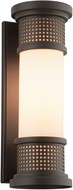 Troy B4672 McQueen Solid Aluminum Exterior Wall Sconce