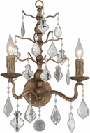 Troy B4742 Siena Hand Worked Iron And Cast Aluminum Wall Mounted Lamp