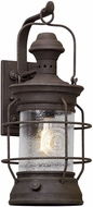 Troy B5053 Atkins Centenial Rust Outdoor Large Wall Sconce Lighting