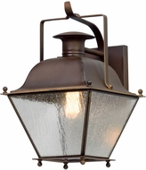 Troy B5071NR Wellesley Natural Rust Exterior Small Wall Mounted Lamp