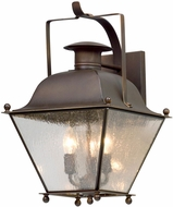 Troy B5072NR Wellesley Natural Rust Outdoor Medium Wall Light Sconce