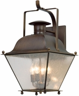 Troy B5073NR Wellesley Natural Rust Exterior Large Wall Lighting Fixture