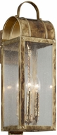 Troy B5092HB Bostonian Historic Brass Outdoor Medium Light Sconce