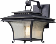 Troy B5141 Grammercy Asian Forged Iron Exterior Small Wall Light Sconce