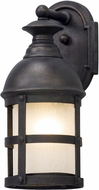 Troy B5151 Webster Vintage Bronze Outdoor Small Wall Sconce Light