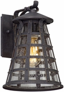 Troy B5161 Benjamin Vintage Iron Exterior Small Wall Lighting