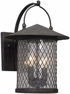 Troy B5172 Altamont French Iron Exterior Medium Lamp Sconce
