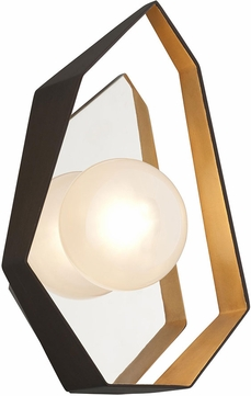Troy B5521 Origami Modern Bronze With Gold Leaf Led Lamp