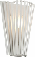 Troy B5641 Tides Modern Textured White Wall Sconce Lighting
