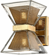 Troy B5801 Expression Contemporary Gold Leaf LED Sconce Lighting