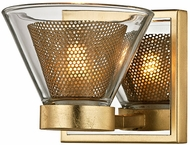 Troy B5821 Wink Contemporary Gold Leaf LED Lighting Sconce
