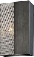 Troy B6042 Impression Contemporary Graphite And Satin Nickel Light Sconce