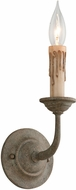 Troy B6111 Cyrano Traditional Earthen Bronze Wall Light Fixture