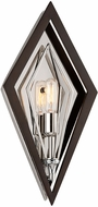 Troy B6141 Javelin Modern Bronze And Polished Stainless Wall Sconce Lighting