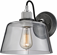 Troy B6151 Audiophile Contemporary Old Silver And Polished Aluminum Wall Mounted Lamp
