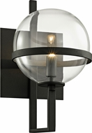 Troy B6221 Elliot Contemporary Black Xenon Lamp Sconce
