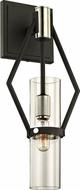 Troy B6321 Raef Contemporary Black & Nickel 7  Wall Lamp