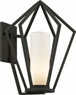 Troy B6342 Whitley Heights Modern Black Exterior 14  Lighting Sconce