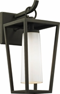 Troy B6351 Mission Beach Modern Black Exterior 6  Wall Sconce Lighting