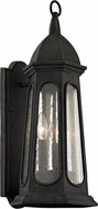 Troy B6362 Astor Traditional Vintage Iron Exterior 9  Wall Sconce Lighting