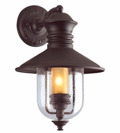 Troy B9360NB Old Town Nautical Outdoor Wall Sconce - 10.5 inches wide