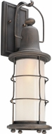 Troy BF4441 Maritime Hand Worked Iron Fluorescent Outdoor Wall Light Sconce