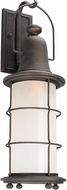 Troy BF4443 Maritime Hand Worked Iron Fluorescent Outdoor Wall Light Sconce